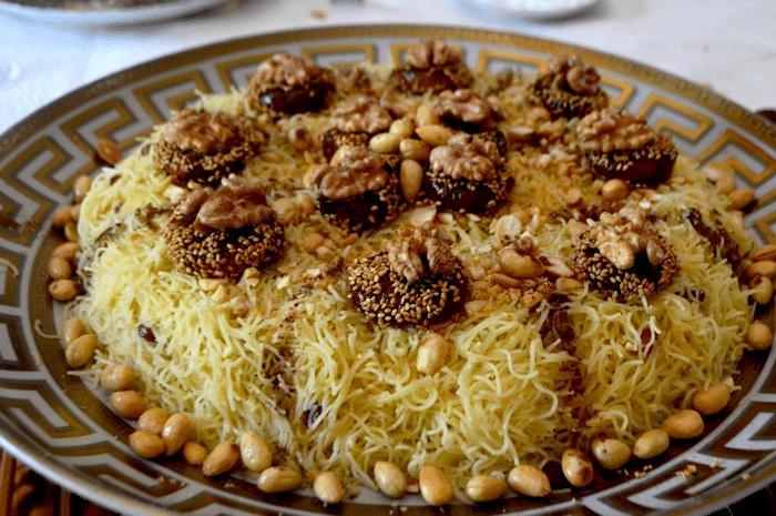 Seffa Marocaine (El madfouna) Facile