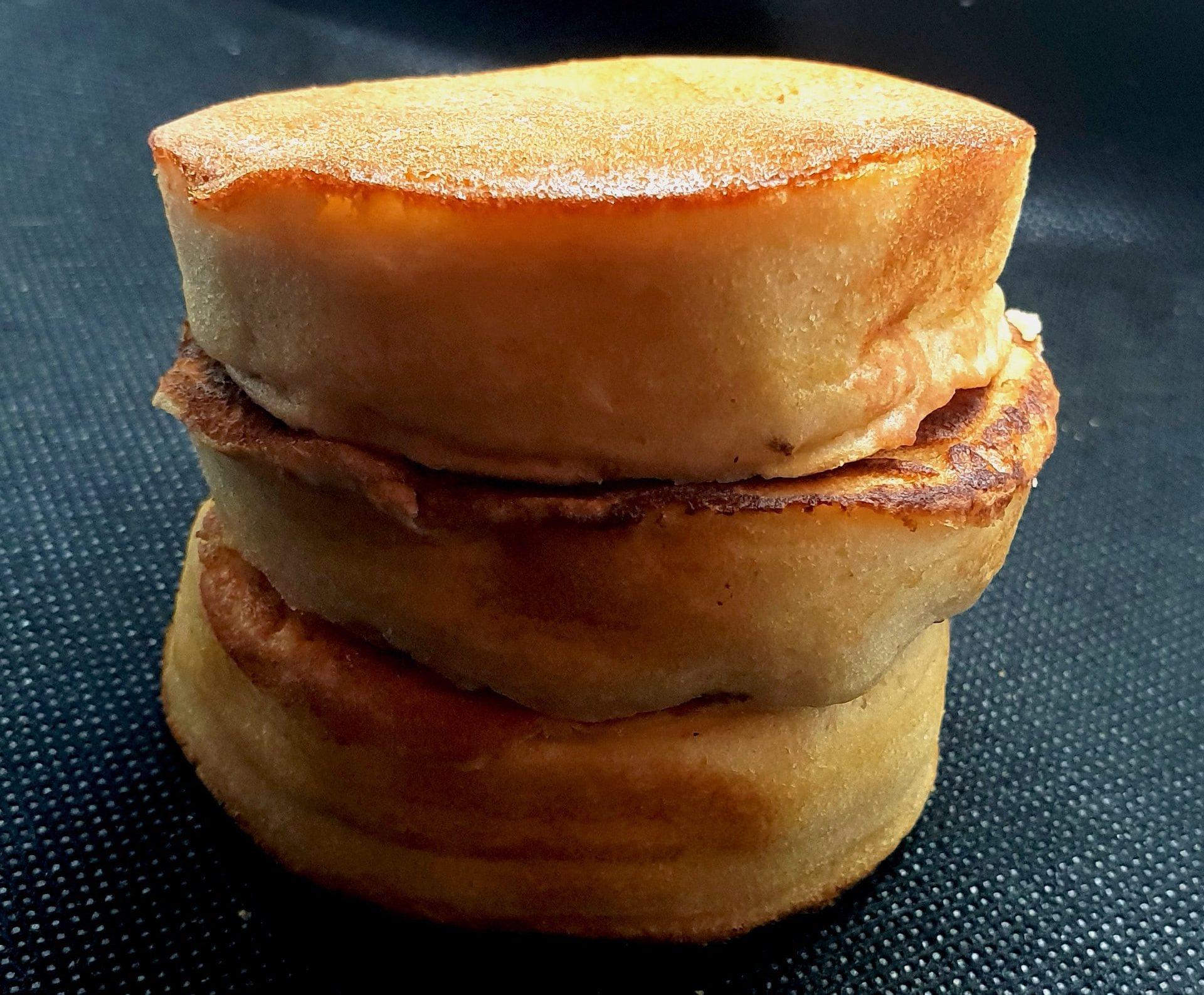 recette de pancakes souffl s pour le gouter tastygourmandise. Black Bedroom Furniture Sets. Home Design Ideas