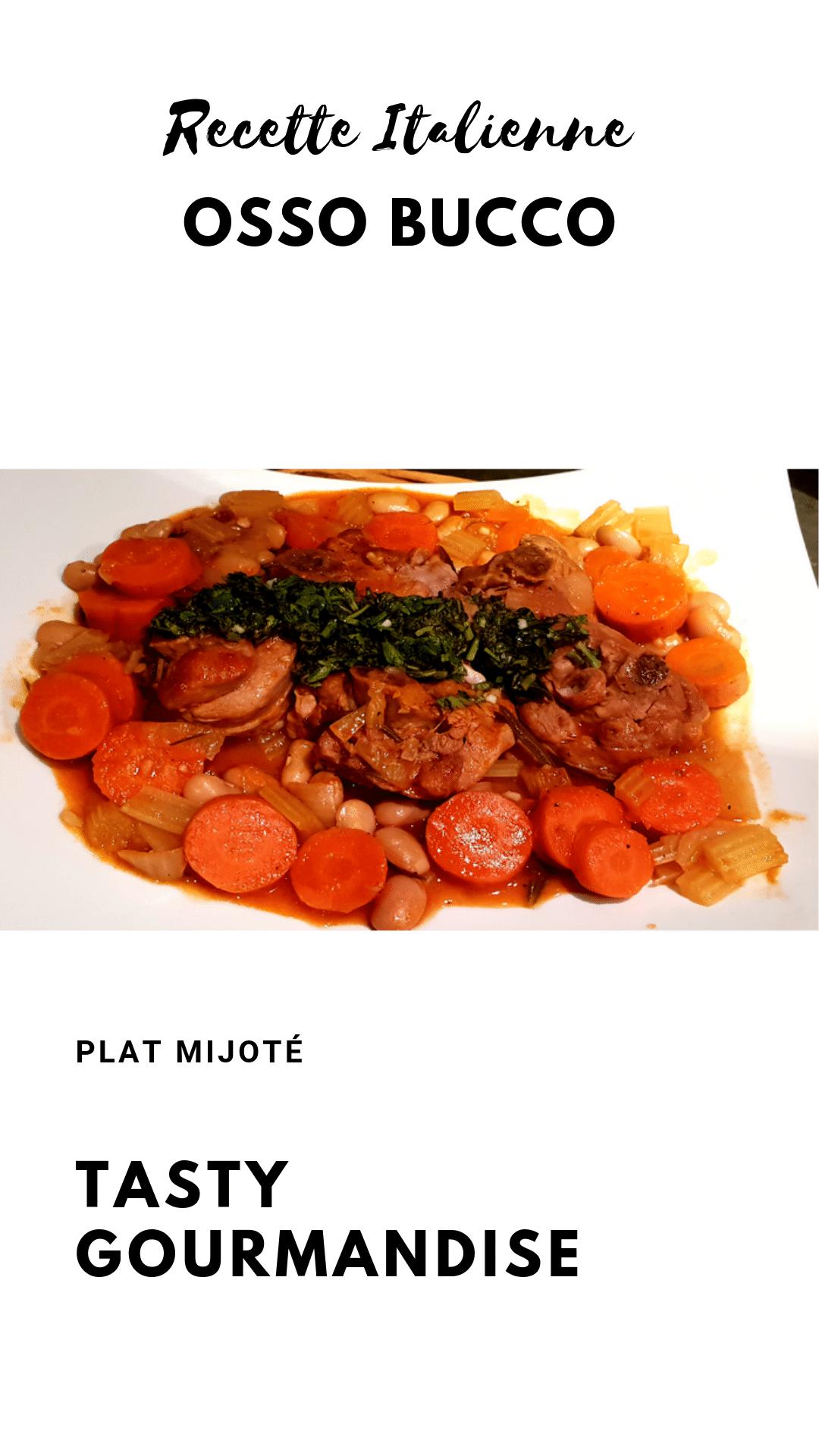 Voici une nouvelle recette d'Osso buco italienne, traditionnellement connu comme un plat mijoté de jarrets de veau et un mélange de légumes, parfumé d'un delicieuse marmelade à l'italienne !