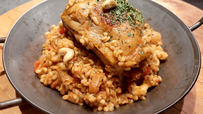 Biryani Poulet Au Curry et Riz Prêt en 30 Min !