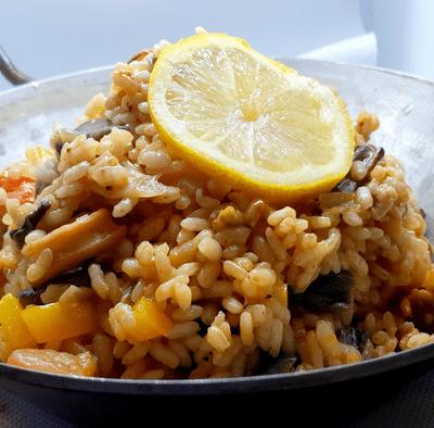 riz au fruit de mer
