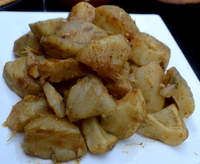 Salade D'Artichaut à la Marocaine