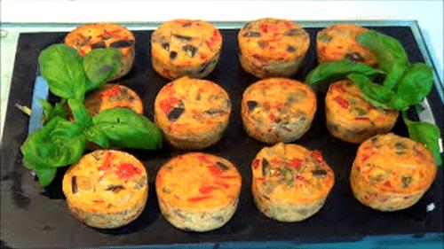 Tartelettes salées De Légumes Au Four