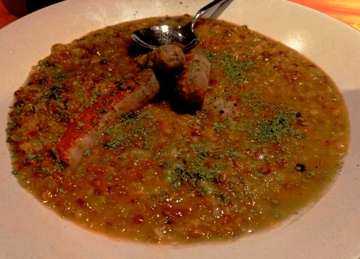Soupe de Lentilles Rapide Au Merguez Avec Monsieur Cuisine
