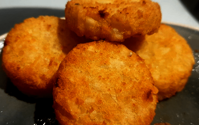 Les Rôstis (Galettes Aux Oignon Et Pommes de terre)