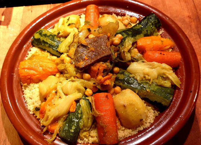 Couscous Marocain À La Langue De Boeuf