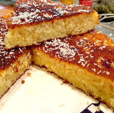 gâteau à la pôele facile