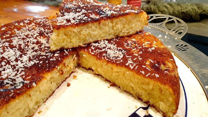 Gâteau À La Banane Cuit À La Pôele Facile