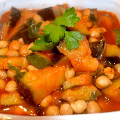 bouillon végétarien de couscous
