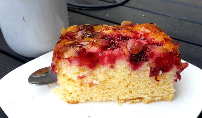 Gâteau Aux Cerises Leger, Moelleux et Facile