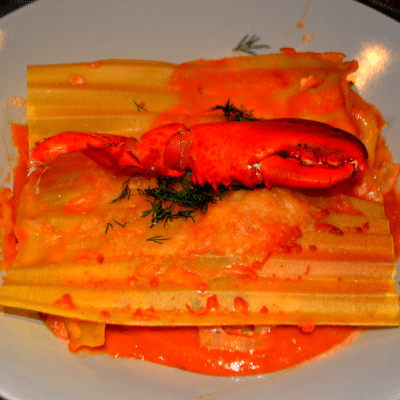 lasagne de homard maison