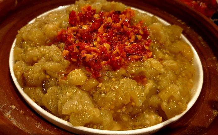 Baba Ghanoush Ou Moutabbal (( Caviar d'Aubergines Grillées)