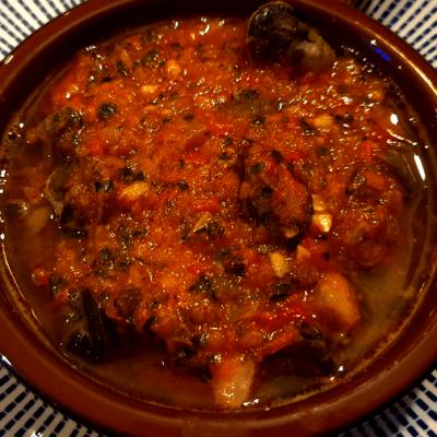 escargots avec chermoula