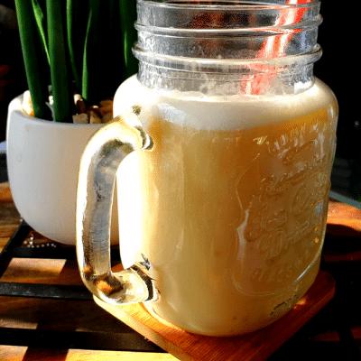 smoothie à l'ananas detox