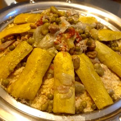 couscous printanier maroain